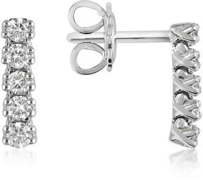 Forzieri 0.37 ctw Five-Stone Drop Diamond 18K Gold Earrings
