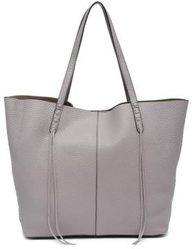 Rebecca Minkoff Medium Unlined Leather Tote & Pouch - GREY - STYLE