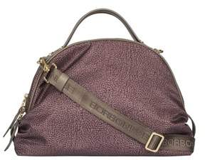 Borbonese Women's Brown Polyester Travel Bag.