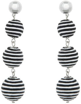 ELOQUII 3-Tier Ball Drop Earrings