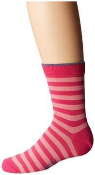 Falke Double Stripe Socks Crew Cut Socks Shoes