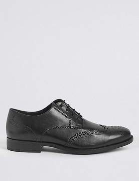 Marks and Spencer Big & Tall Leather Gibson Brogue Shoes