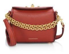 Alexander McQueen Box Bag 16 Grain Leather Satchel