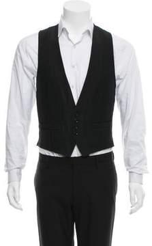 Dries Van Noten Wool & Linen-Blend Suit Vest