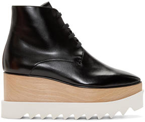 Stella McCartney Black Platform Elyse Boots