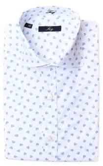 Fay Men's White Cotton Shirt.