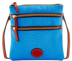 Dooney & Bourke Nylon North South Triple Zip Shoulder Bag - FRENCH BLUE - STYLE