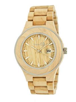 Earth Wood Cherokee Khaki Bracelet Watch with Date ETHEW3401