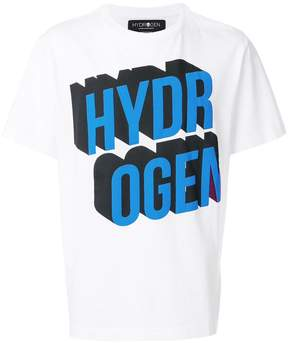 Hydrogen logo print T-shirt