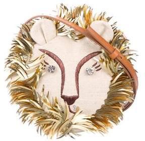 Charlotte Olympia 2016 Embroidered Leo Shoulder Bag