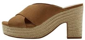 MANGO Esparto leather sandals