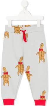 Mini Rodini turtle motif sweatpants