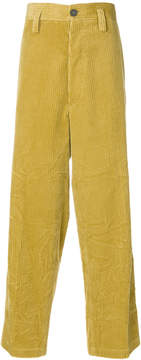 Marni wide leg corduroy trousers