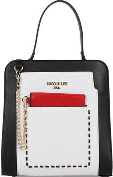 Nicole Lee Color-Block Kimetha Handbag (Women's)