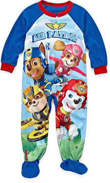 Nickelodeon Paw Patrol One Piece Pajama Set -Toddler Boys