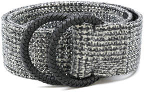 Ermanno Scervino woven effect belt