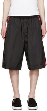DSQUARED2 Black Neon Stripe Shorts