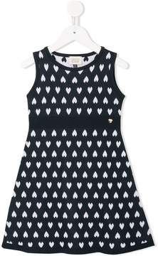 Emporio Armani Kids jacquard knitted dress