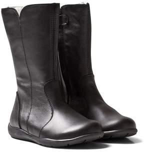Primigi Black Adella Tall Leather Boots