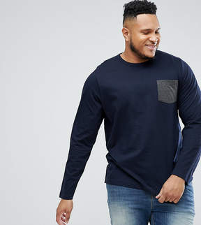 French Connection PLUS Long Sleeve Pocket Top