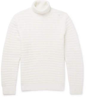 Ermenegildo Zegna Cashmere And Silk-Blend Rollneck Sweater
