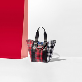 Tommy Hilfiger Edition Pocket Tartan Tote Bag