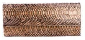 Stuart Weitzman Python Gypsy Clutch