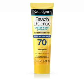 Neutrogena® Beach Defense Broad Spectrum Sunscreen Lotion - SPF 70 - 1 fl oz