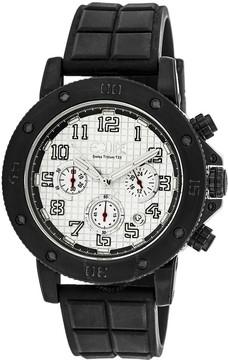Equipe Tritium Arciform Chronograph Silver Dial Men's Watch