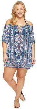 Becca by Rebecca Virtue Plus Size Inspired Tunic Cover-Up