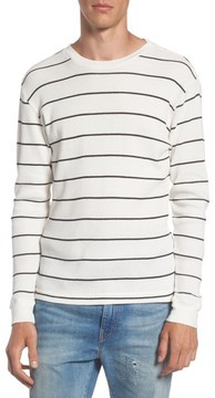 RVCA Men's Neutral Stripe Thermal T-Shirt