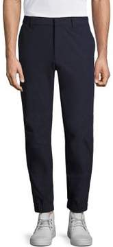 MPG Zippered Twill Denim Pants