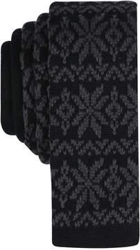 Bar III Men's Kerst Fair Isle Skinny Tie, Created for Macy's