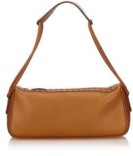 Gucci Pre-owned: Leather Shoulder Bag. - BROWN - STYLE