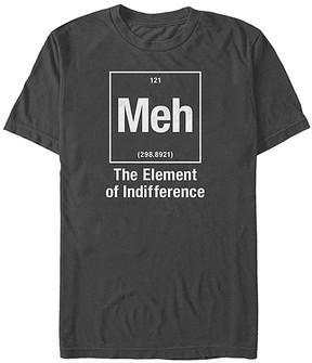 Fifth Sun Charcoal 'Element of Meh' Tee - Men