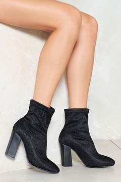 Nasty Gal nastygal Drop of Jupiter Metallic Bootie
