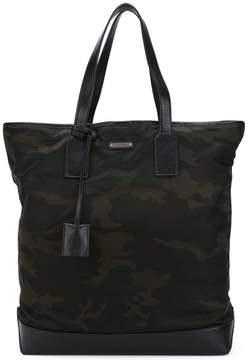 Saint Laurent camouflage holdall bag