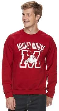 Disney Men's Mickey Mouse Crew Fleece
