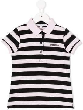 Givenchy Kids striped polo shirt