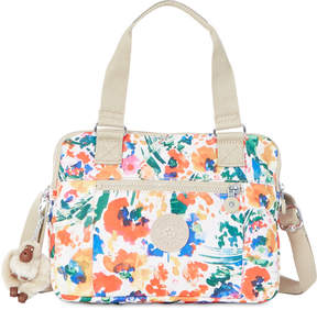 Kipling Brent Convertible Satchel - FLORAL NIGHT NATURAL - STYLE