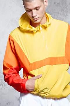 21men 21 MEN Colorblock Anorak Jacket