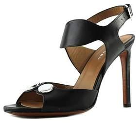 Carven Sandales Open-toe Leather Heels.