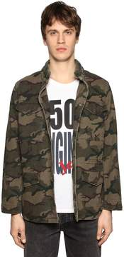 Levi's Camouflage Cotton Canvas Field Jacket