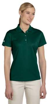 adidas A131 Ladies ClimaLite Basic Polo - Forest, 2XL