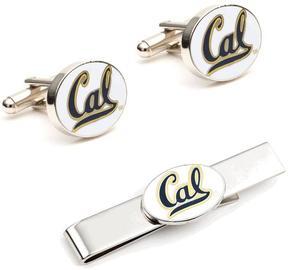 Ice University of California Cufflinks and Tie Bar Gift Set