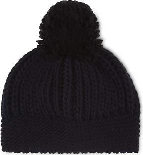 Sandro Knitted wool-blend beanie