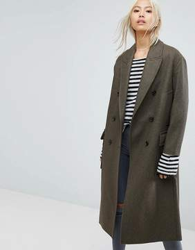 AllSaints Rhea Radix Long Coat