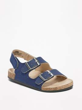 Old Navy Sueded Double-Buckle Sandals for Baby