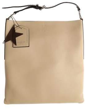 Golden Goose Deluxe Brand Women's Beige Leather Shoulder Bag.