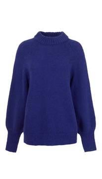Tibi Mohair Oversized Pullover